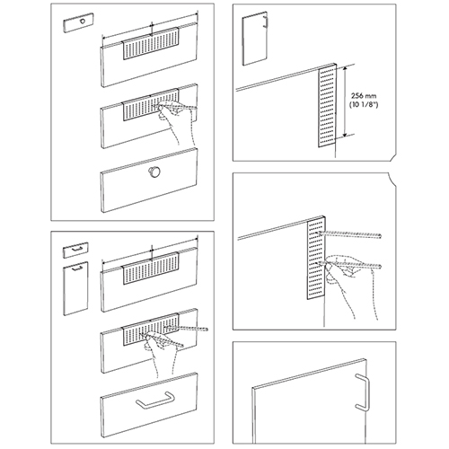 How to Properly Install Cabinet Bar Pulls?