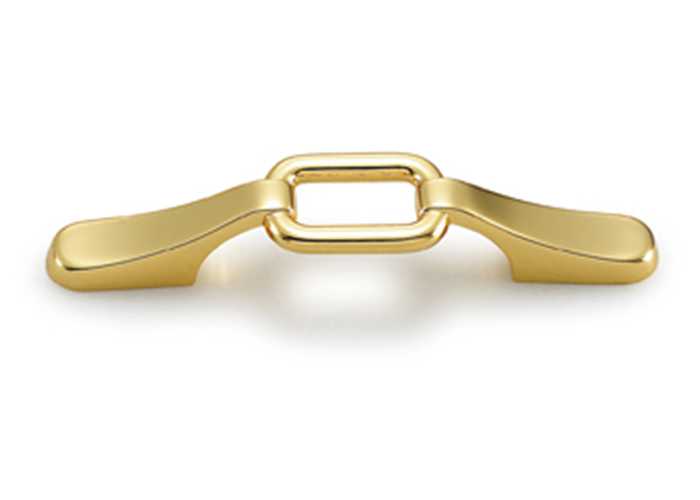YJ0253 Gold Dresser Handle