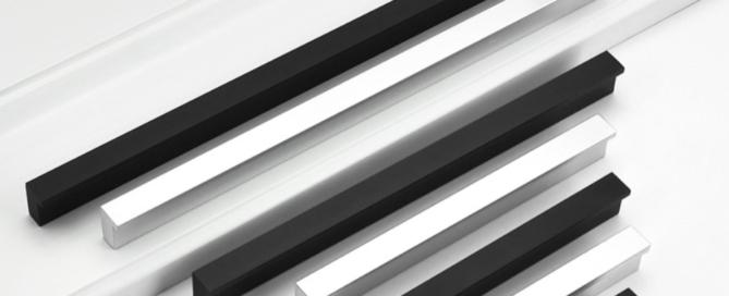 Black Aluminum handles
